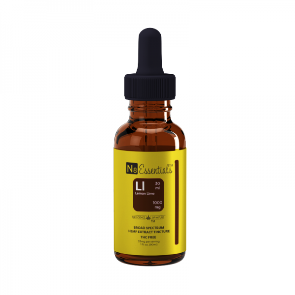 Lemon Lime Hemp Extract Tincture