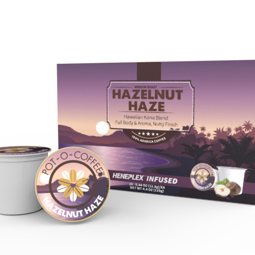 Pot-O-Coffee K Cups - Hazelnut Haze