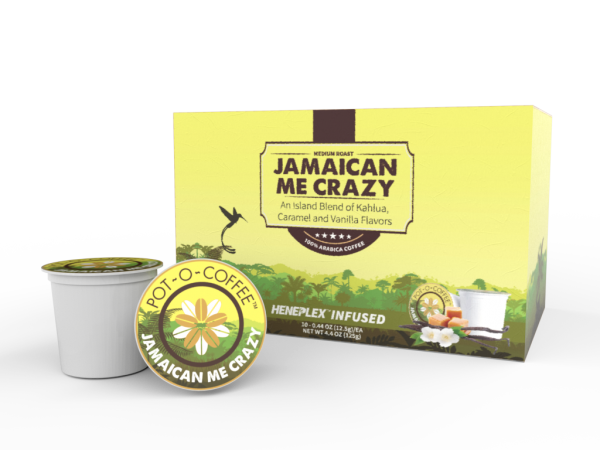 Pot-O-Coffee K Cups - Jamaican Me Crazy
