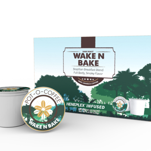 Pot-O-Coffee K Cups - Wake N Bake