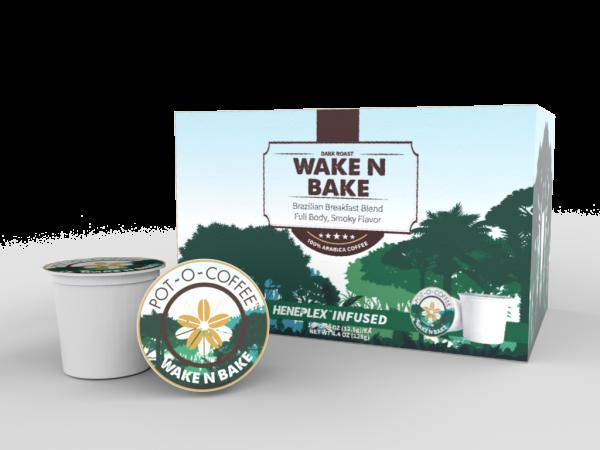Pot-O-Coffee K Cups - Wake N Bake