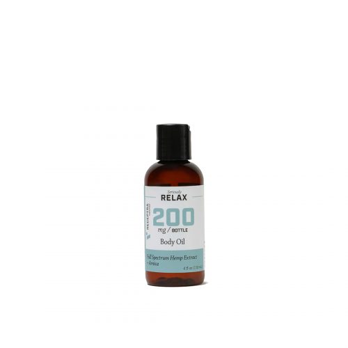 Seriously Relax Body Oil + Arnica 400mg 4 fl oz/118ml