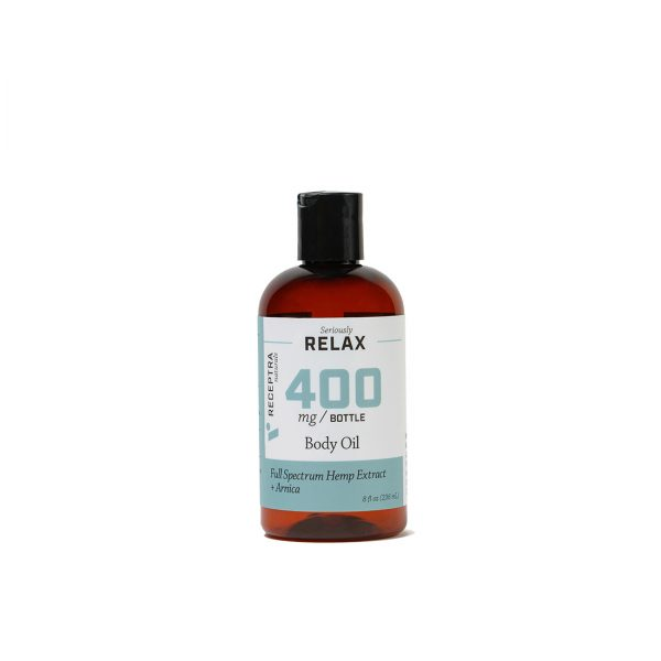 Seriously Relax Body Oil + Arnica 400mg 8fl oz/236ml