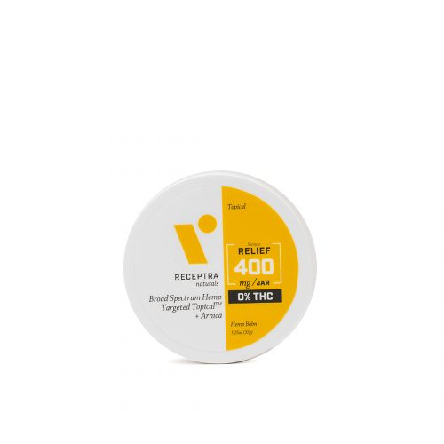 Serious Relief Targeted Topical + Arnica 1.25oz/35g 0% THC